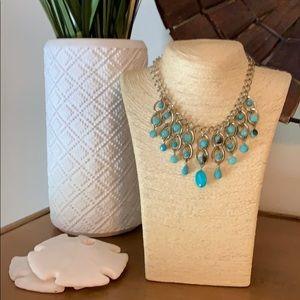 Blue Vintage Necklace